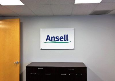 Conference Room Signage for Ansell in Chatsworth, CA