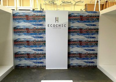Trade Show Event Signs for Ecochic Lifestyles in Chatsworth, CA