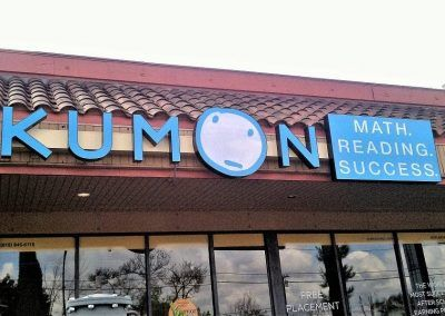 Customized Sign for Business for Kumon in Los Angeles, CA