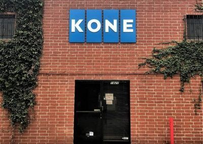 Exterior Business Signs for KONE in Glendale, CA
