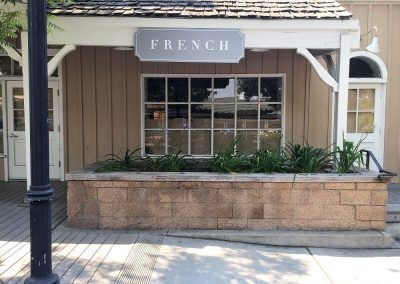 Storefront Retail Sign for French in Calabasas, CA