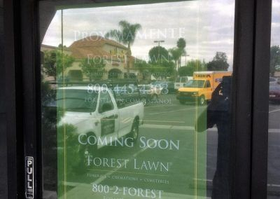 Custom Event Signage for Forest Lawn in Los Angeles, CA