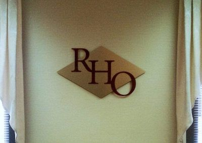 Custom Conference Room Sign for Richardson Ober in Pasadena, CA