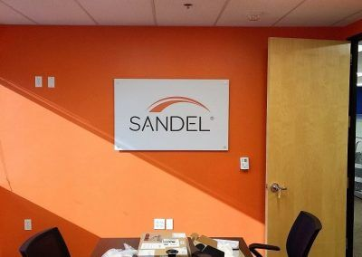 Signs for Conference Room for Ansell in Chatsworth, CA