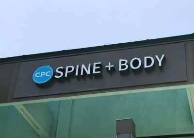 3D Business Sign for CPC Spine + Body in Marina Del Rey, CA