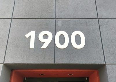 Office Building Address Sign for Office Building in Simi Valley, CA
