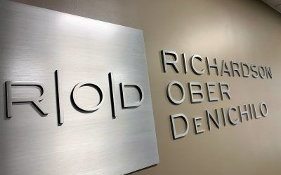 Aluminum Dimensional Letter Sign for Law Firm in Pasadena, CA